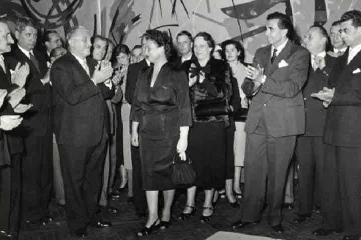 Ugo Zanchetta e Fernanda Wittgens