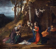 Nativity of Jesus with Saint Elisabeth and the Infant Saint John