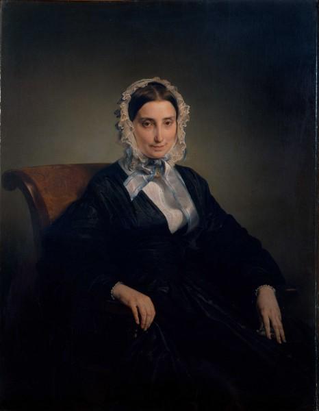 Ritratto di Teresa Manzoni Stampa Borri