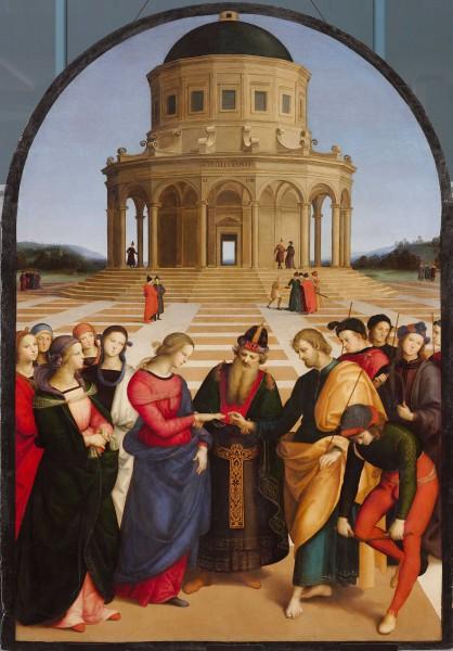 Il restauro dello Sposalizio della Vergine