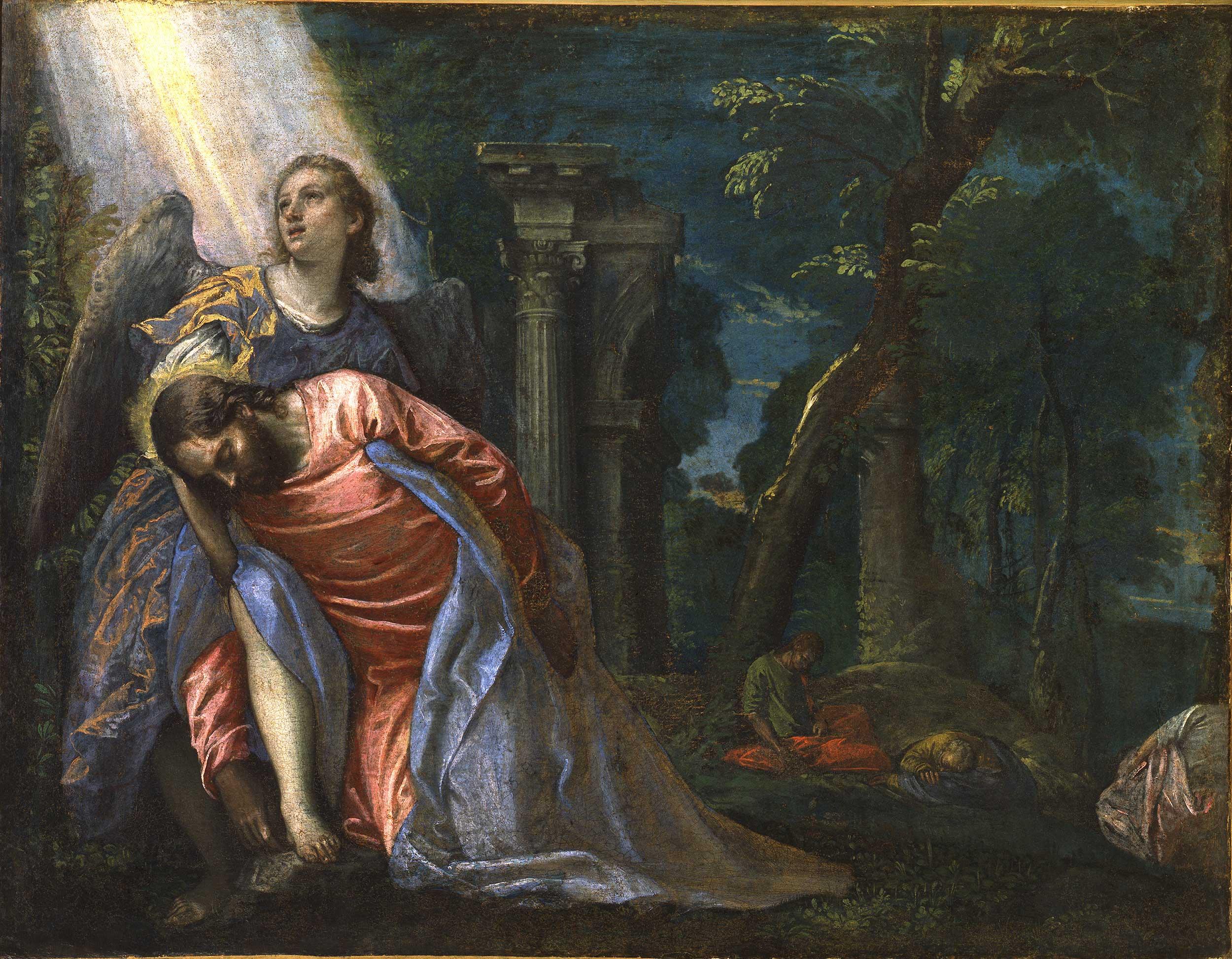 Christ in the garden of gethsemane pinacoteca di brera - Jesus in the garden of gethsemane ...