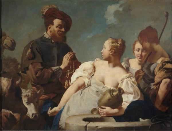 Rebecca ed Elezearo al pozzo