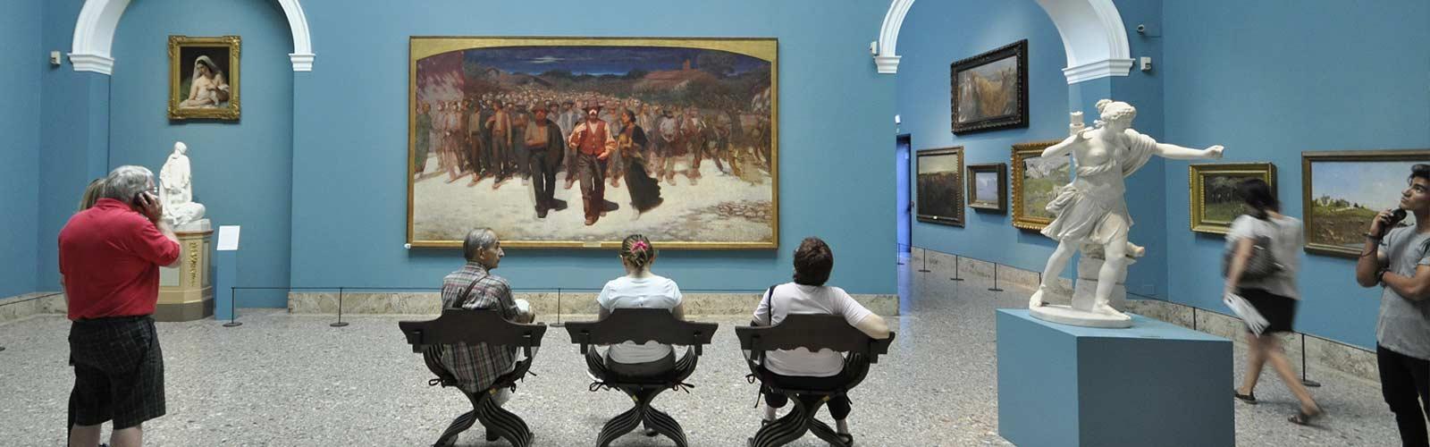 Foto amatoriali in Pinacoteca