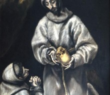 Saint Francis Meditating on Death