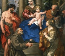 Madonna con il Bambino, e i Santi Giovanni Battista, Felice da Cantalice, Andrea e Caterina
