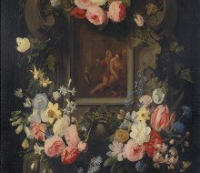 Vertumnus and Pomona in a Garland of Flowers