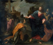 Christ and the Woman of Cana