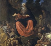 Saint Anthony of Egypt Preaching to the Hermits