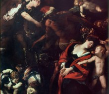 The Martyrdom of Saints Rufina and Seconda (Quadro delle tre mani)