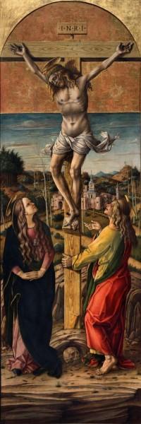 La Crocifissione con la Vergine e San Giovanni Evangelista