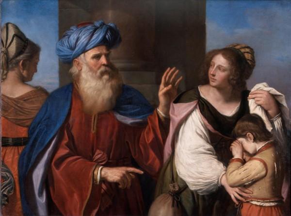 Abramo ripudia Agar e Ismaele