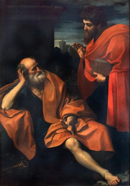 Paolo rimprovera Pietro penitente