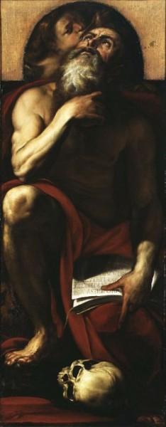 San Gerolamo e un angelo