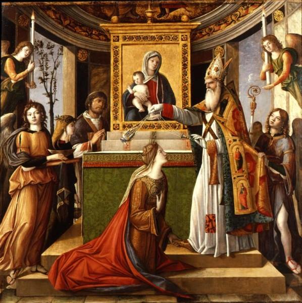 San Giovanni Evangelista appare a Galla Placidia