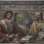 Bramante Eraclito e Democrito
