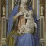 Bergognone Madonna in trono con il Bambino