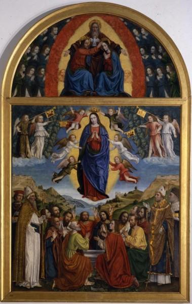 Assunzione della Vergine e Santi e Incoronazione della Vergine