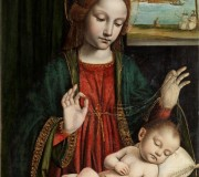 Madonna con il Bambino dormiente (Madonna del velo)