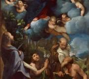 Madonna con il Bambino in gloria e i Santi Bartolomeo, Giovanni Battista, Alberto e Gerolamo