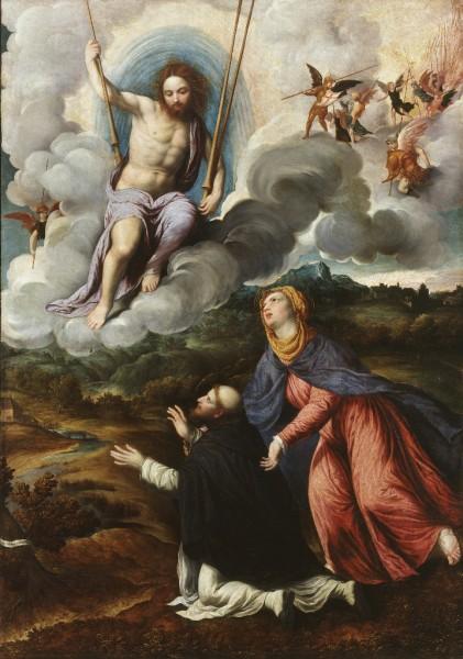 La Vergine raccomanda San Domenico al Redentore