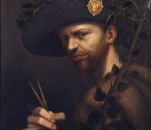 Autoritratto in veste di abate dell'Accademia della valle di Blenio