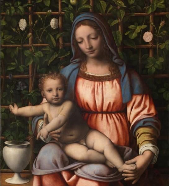 Madonna con il Bambino (Madonna del Roseto)