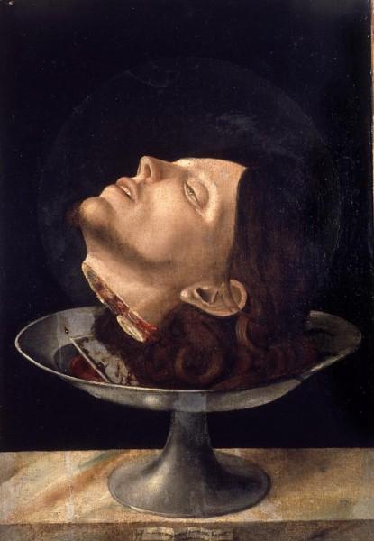Testa di San Giovanni Battista