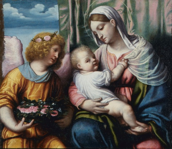 Madonna con il Bambino e un angelo