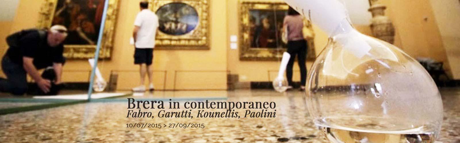 Brera in contemporaneo – Fabro, Garutti, Kounellis, Paolini