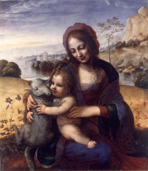 Madonna con il Bambino e l'agnellino