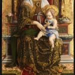 Carlo Crivelli, Trittico di S. Domenico, Madonna con Bambino