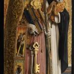 Carlo Crivelli, Polittico di S. Domenico, santi Pietro e Domenico