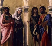 Saint Luke, the Virgin, Saint John the Baptist and Saint Mark