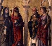 Saints Clare, Jerome, Nicholas and Ursula