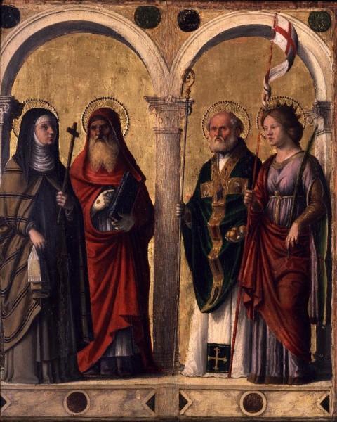 Santa Clara, San Gerolamo, San Nicola e Sant'Orsola