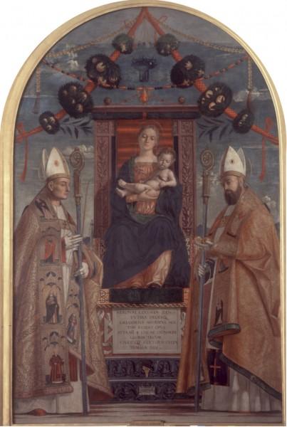 Madonna in trono con il Bambino e i Santi Zeno e Nicolò