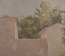Paesaggio (La casa rosa)