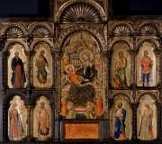 Madonna in trono con il Bambino e santi