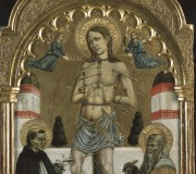 Saint Sebastian between Saints Dominic and Anthony of Egypt