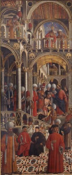 San Marco battezza Aniano