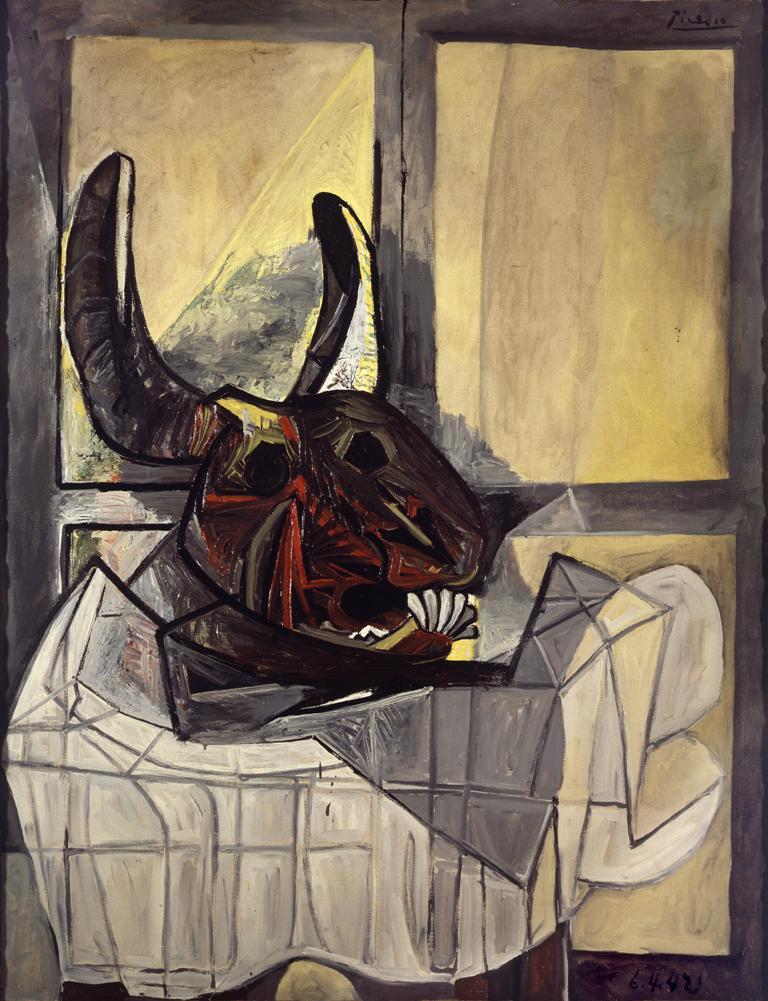 Picasso a Brera: Testa di toro e La loge