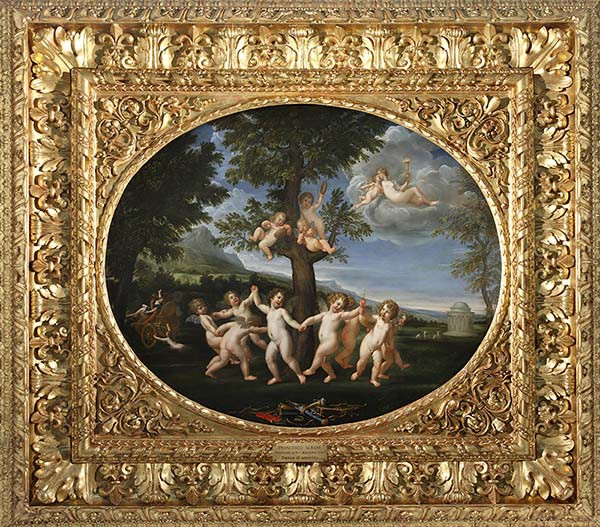 """""""Brera mai vista"""": Una favola mitologica come dono nuziale. La Danza degli amorini di Francesco Albani (1623-1625)"""