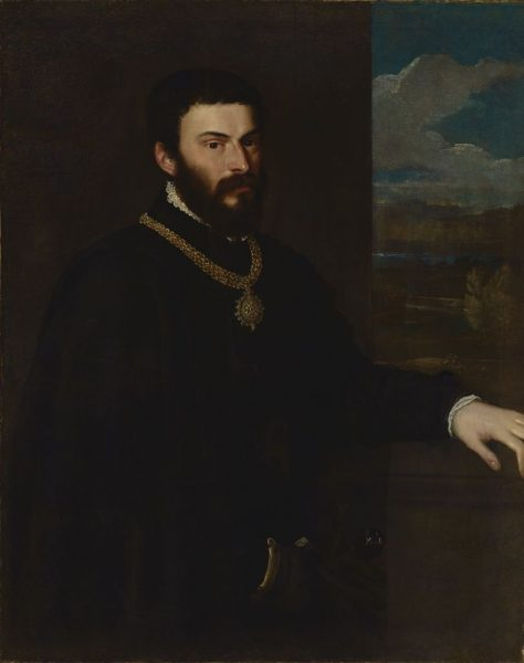 Portrait of Count Antonio Porcia and Brugnera