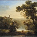 Rosa Mezzera, Le cascate di Tivoli, 1810
