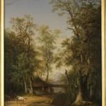 Marco Gozzi, Una ghiacciaia (Paesaggio con ferriera), 1818
