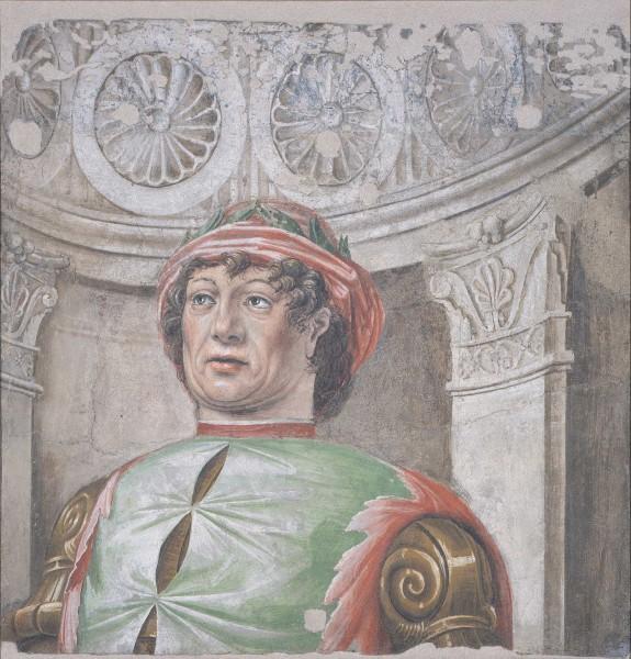 Poeta laureato con cappello rosso