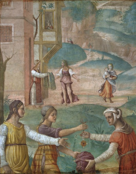 I doni degli Egiziani agli Ebrei