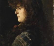 Testa di donna o Gabbrigiana