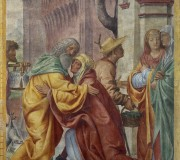 Saint Joachim and Saint Anne Meetin at the Golden Gate