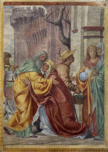 Incontro di Sant'Anna e San Gioacchino alla porta aurea